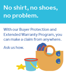 Buyer Protection. We've got you covered!